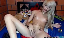 Desirable Blonde Tranny Prostitute