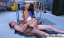 (Cindy Starfall) full-bosomed strumpet Office lass adore excitedly sex clip-08